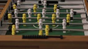 Κερδίστε του επιτραπέζιου ποδοσφαίρου απόθεμα βίντεο