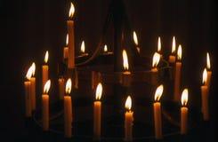 Κεριά αποστολής Στοκ Εικόνες