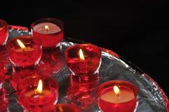 Κεριά εκκλησιών Στοκ Εικόνες