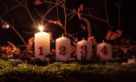 Κεριά εμφάνισης Στοκ Φωτογραφίες