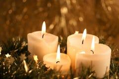 Κεριά εμφάνισης Στοκ Εικόνα