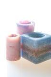 κεριά που χρωματίζονται Στοκ Φωτογραφία