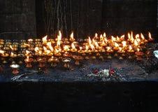 Κεριά προσευχής Στοκ φωτογραφία με δικαίωμα ελεύθερης χρήσης
