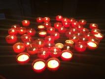Κεριά στη Λισσαβώνα Στοκ Εικόνες