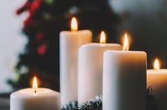 Κεριά στο δωμάτιο Στοκ φωτογραφίες με δικαίωμα ελεύθερης χρήσης