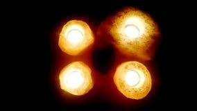 Κεριά της αγάπης Στοκ εικόνες με δικαίωμα ελεύθερης χρήσης