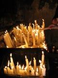 Κεριά φωτισμού στοκ φωτογραφίες με δικαίωμα ελεύθερης χρήσης