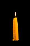 Κεριά φωτισμού Στοκ φωτογραφία με δικαίωμα ελεύθερης χρήσης