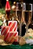 Κεριά Χριστουγέννων στοκ φωτογραφίες με δικαίωμα ελεύθερης χρήσης