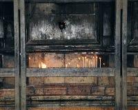 κεριά Χριστός sepulcher Στοκ Εικόνες