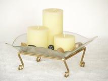 κεριά Στοκ εικόνα με δικαίωμα ελεύθερης χρήσης