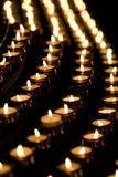κεριά Στοκ εικόνες με δικαίωμα ελεύθερης χρήσης