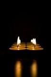 κεριά Στοκ Εικόνα