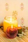 Κεριά Aromatherapy Στοκ Εικόνες