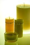 κεριά scented Στοκ φωτογραφία με δικαίωμα ελεύθερης χρήσης