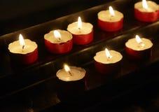 κεριά votive Στοκ εικόνες με δικαίωμα ελεύθερης χρήσης