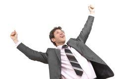Κερδίζοντας επιχειρηματίας Στοκ Εικόνες
