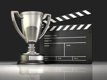 Κερδίζοντας κινηματογράφος βραβείων Στοκ Φωτογραφία