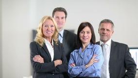 Κερδίζοντας ομάδα επιχειρηματιών ενθαρρυντική απόθεμα βίντεο