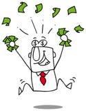 Κερδίστε τα χρήματα Στοκ φωτογραφία με δικαίωμα ελεύθερης χρήσης