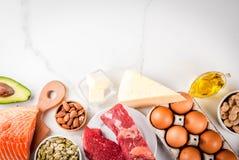 Κετονογενετικά χαμηλά συστατικά διατροφής εξαερωτήρων στοκ εικόνες