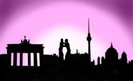 Κεφάλαιο του Βερολίνου Γερμανία στοκ εικόνες με δικαίωμα ελεύθερης χρήσης