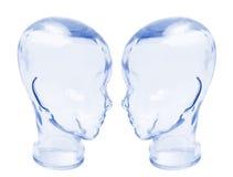 κεφάλια γυαλιού Στοκ φωτογραφία με δικαίωμα ελεύθερης χρήσης