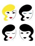 κεφάλια που τίθενται Στοκ φωτογραφίες με δικαίωμα ελεύθερης χρήσης