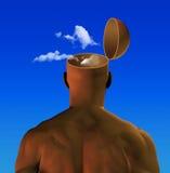 κεφάλι αέρα διανυσματική απεικόνιση