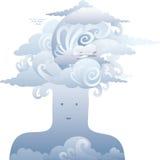 κεφάλι αέρα Στοκ Φωτογραφία