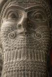 Κεφάλι αγαλμάτων Babylonian Στοκ εικόνες με δικαίωμα ελεύθερης χρήσης