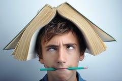 κεφάλι βιβλίων Στοκ φωτογραφίες με δικαίωμα ελεύθερης χρήσης