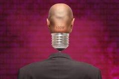 κεφάλι βολβών Στοκ φωτογραφία με δικαίωμα ελεύθερης χρήσης
