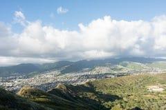 Κεφάλι διαμαντιών στη Χονολουλού, κατάσταση της Χαβάης στοκ εικόνες