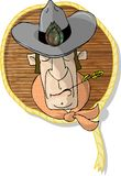 κεφάλι κάουμποϋ Στοκ φωτογραφία με δικαίωμα ελεύθερης χρήσης