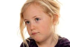 κεφάλι παιδιών λίγο πορτρέ&t στοκ εικόνες
