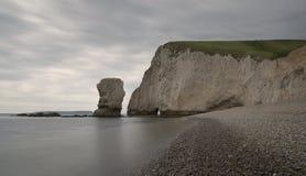 Κεφάλι ροπάλων στο Dorset στοκ εικόνα