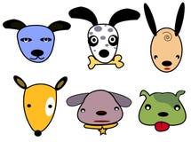 κεφάλι σκυλιών Στοκ φωτογραφία με δικαίωμα ελεύθερης χρήσης