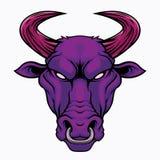 Κεφάλι του Bull απεικόνιση αποθεμάτων