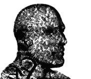 κεφάλι τύπων χαρακτήρων Στοκ εικόνα με δικαίωμα ελεύθερης χρήσης
