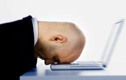 κεφάλι υπολογιστών Στοκ Φωτογραφία