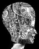 Κεφάλι 35 υπολογιστών στοκ εικόνες