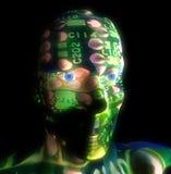Κεφάλι 4 τεχνολογίας απεικόνιση αποθεμάτων