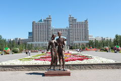 Κεφάλαιο Astana Στοκ φωτογραφία με δικαίωμα ελεύθερης χρήσης