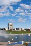 Κεφάλαιο Chuvashiya η πόλη Cheboksary, Ρωσία στοκ φωτογραφία με δικαίωμα ελεύθερης χρήσης