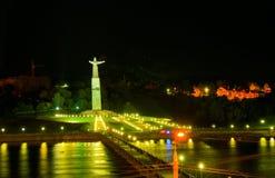 Κεφάλαιο Chuvashiya, η πόλη Cheboksary Στοκ φωτογραφία με δικαίωμα ελεύθερης χρήσης