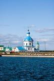 Κεφάλαιο Chuvashiya η πόλη Cheboksary στοκ φωτογραφίες