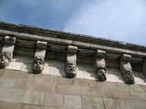 Κεφάλια γεφυρών του Pont-neuf Στοκ Εικόνες