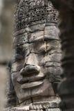 Κεφάλια του Βούδα στο ναό Bayon, Angkor Wat, Καμπότζη Στοκ φωτογραφία με δικαίωμα ελεύθερης χρήσης