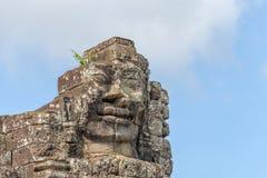 Κεφάλια του Βούδα στο ναό Bayon, Angkor Wat, Καμπότζη Στοκ φωτογραφίες με δικαίωμα ελεύθερης χρήσης